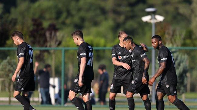 Beşiktaş hazırlık maçında şov yaptı! Tam 7 gol...