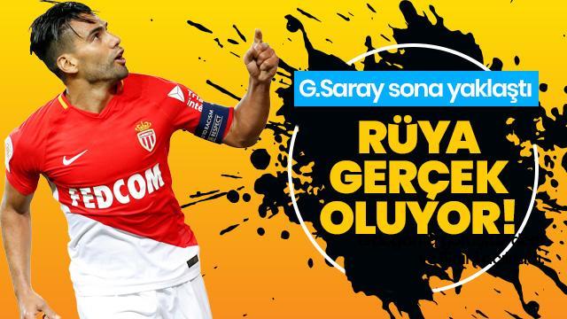 Radamel Falcao'ya en iyi teklif Galatasaray'dan