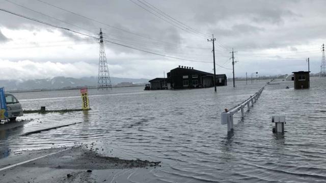 Japonya'da sel uyarısı: 111 bin kişi için tahliye emri verildi