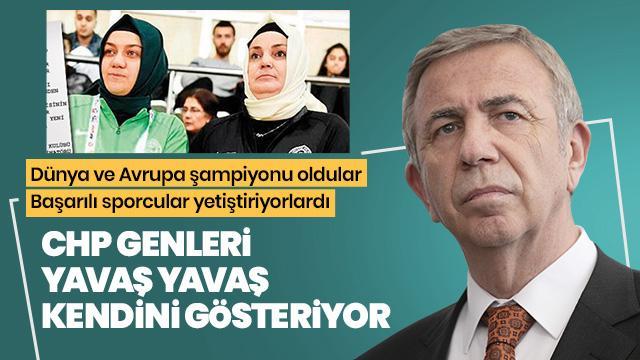 CHP'li belediye başkanı Mansur Yavaş'ın yeni hedefi başörtülü sporcular