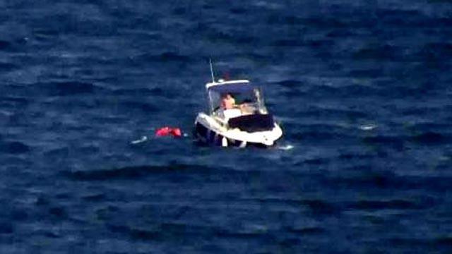 Tekirdağ'da tekneden denize düşen 4 kişi deniz polisi tarafından kurtarıldı