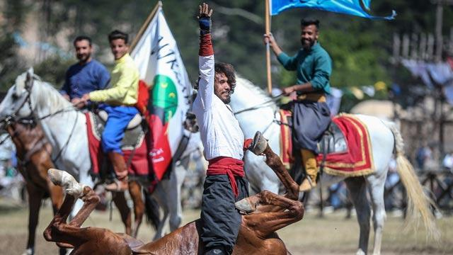 4. Türk Dünyası Ata Sporları Şenliği ile ata sporları günümüze taşındı