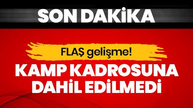 Fenerbahçe'de Eljif Elmas, Avusturya kampı kadrosuna dahil edilmedi