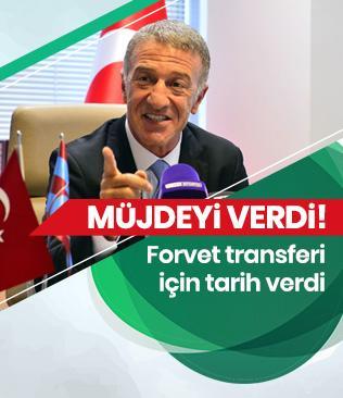 Ahmet Ağaoğlu'ndan forvet müjdesi: Çarşamba ya da Perşembe günü netleşir