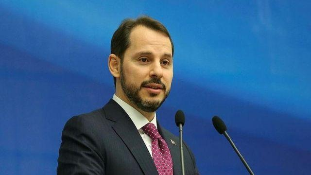 Bakan Albayrak ile İtalya Ekonomi ve Maliye Bakanı Tria bir araya geldi