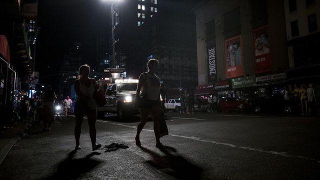 New York'taki elektrik kesintisi tepkilere neden oldu