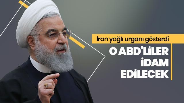 İran medyası duyurdu! O ABD'liler idam edilecek!