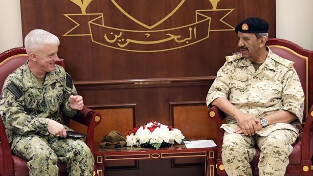 ABD'li ve Bahreynli yetkililer askeri ilişkileri görüştü