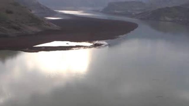 Siirt Şirvan'da baraj gölünde bir kişi boğuldu