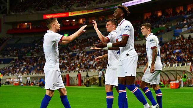 Chelsea özel maçta Barcelona'yı 2-1 mağlup etti