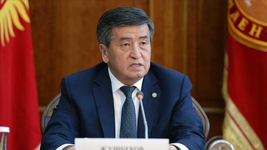 Kırgızistan Cumhurbaşkanı Sooronbay Ceenbekov: Türkiye, kardeş ve dost bir ülkedir