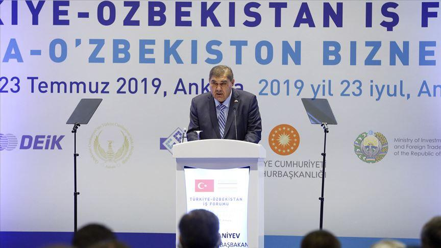 Elyor Ganiyev: Özbekistan'da yılın ilk yarısında 225 Türk sermayeli şirket kuruldu