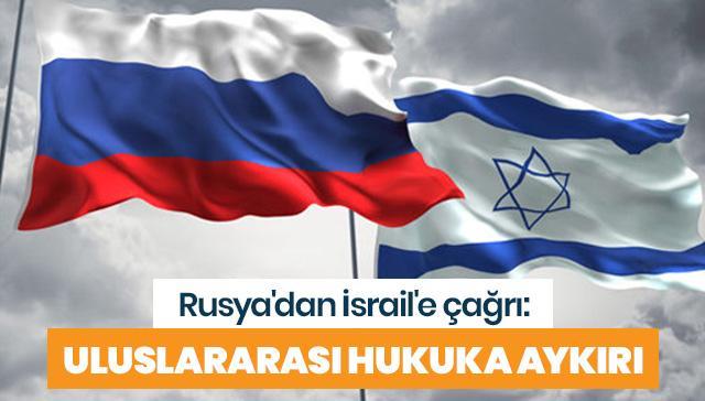 Rusya'dan İsrail'e Doğu Kudüs çağrısı