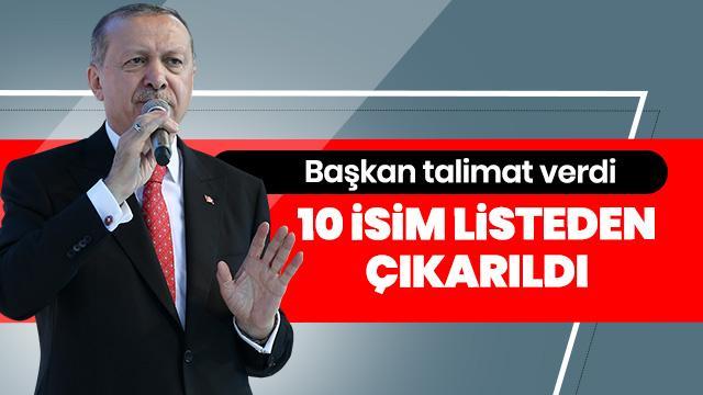 AK Parti'nin Kurucular Kurulu'nda 10 isim listeden çıkarıldı