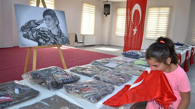 """Kayseri'de """"şehit ve devlet büyükleri emanetleri"""" sergisi açıldı"""