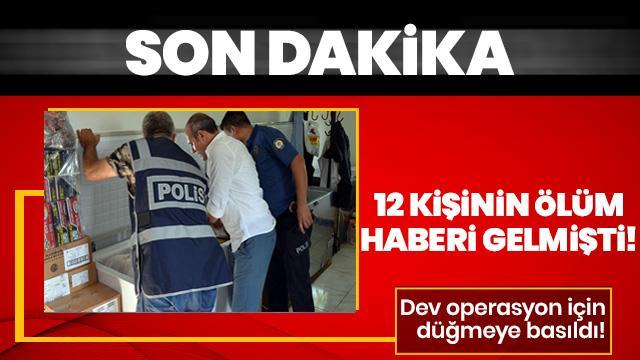 Peş peşe gelen ölümlerin ardından Adana'da büyük operasyon