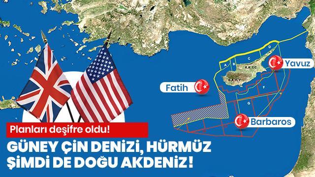 Planları deşifre oldu! Doğu Akdeniz'i işgal edecekler!