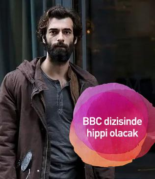 İlker Kaleli BBC dizisinde hippi olacak