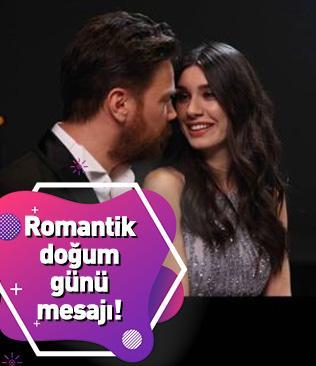 Sinan Akçıl'dan Burcu Kıratlı'ya romantik doğum günü mesajı!