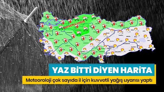 Meteoroloji'den İstanbul için son dakika sağanak yağış ve hava durumu uyarısı! Bugün hava nasıl olacak? 17 Ağustos