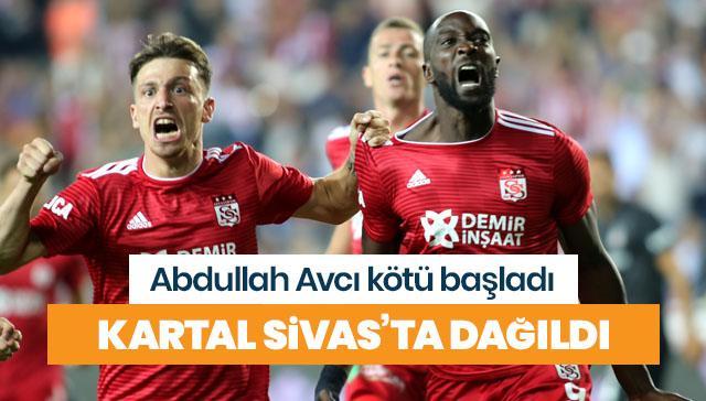 Beşiktaş, Abdullah Avcı ile çıktığı ilk resmi maçında mağlup oldu