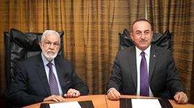 Bakan Çavuşoğlu, Libya Dışişleri Bakanı Siyala ile görüştü