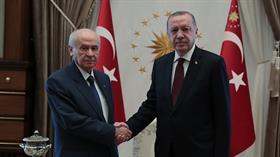 Başkan Erdoğan'dan ve Behçeli'den 17 Ağustos mesajı