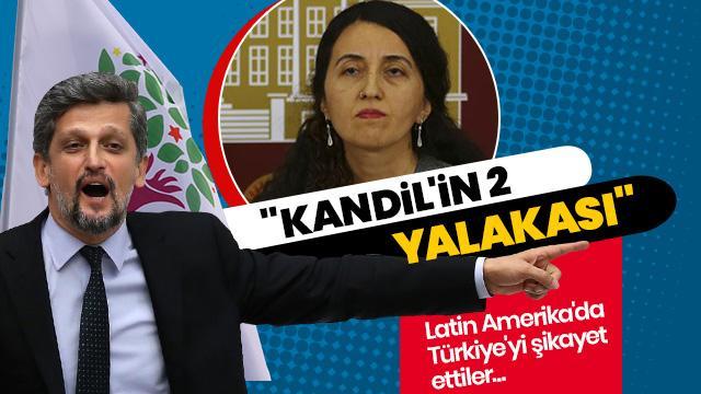 Terör örgütü PKK'nın siyasi uzantısı HDP'li vekillerden Latin Amerika'da sözde soykırım suçlamaları