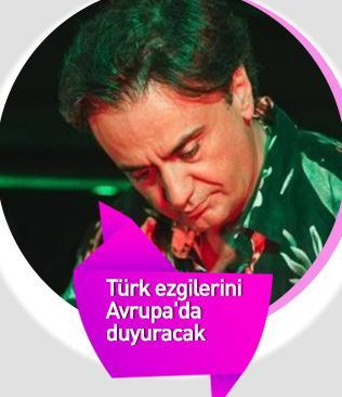 Sanatçı Özer, perküsyondan yankılanan Türk ezgilerini Avrupa'da duyuracak