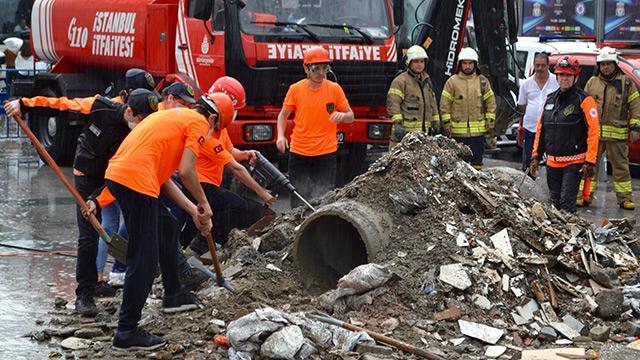 İstanbul'da deprem tatbikatı