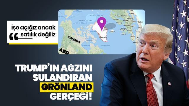 'Grönland'ı satmıyoruz'