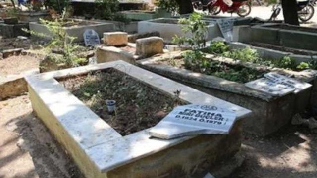 Reyhanlı'da mezarların tahrip eden 6 kişi gözaltına alındı