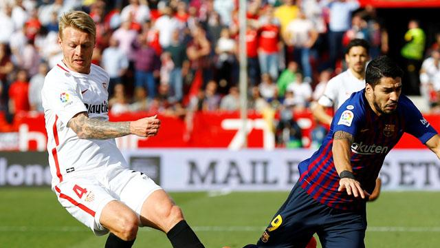 Kjaer Sevilla'nın maç kadrosunda yok