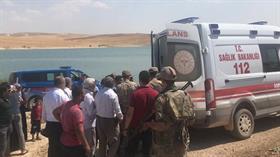 Şanlıurfa'nın Bozova ilçesinde baraj gölünde 3 kişi boğuldu
