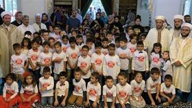 Almanya'da 'Dua ile birlikte okula başlıyorum' etkinliğine 90 çocuk katıldı
