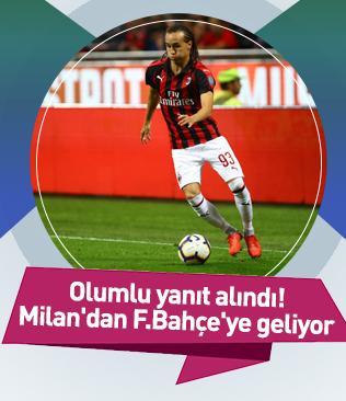 F.Bahçe, Milan forması giyen Diego Laxalt'a resmi teklif götürdü