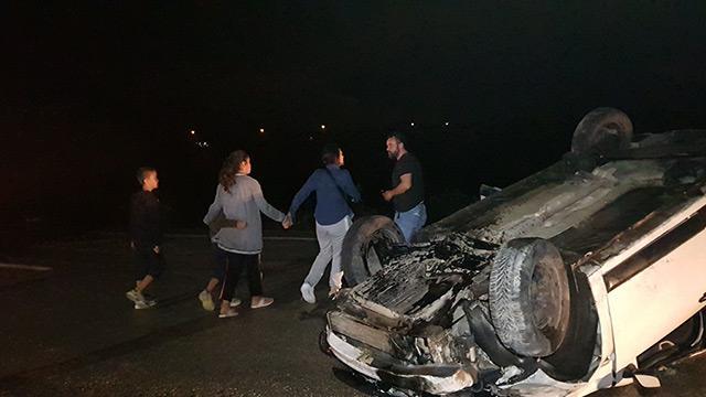 Karabük'te trafik kazası: 2'si çocuk 5 kişi yaralandı