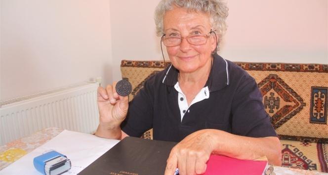 Gülbahçe köyünün 'Hükümet kadın'ı muhtar Nahide Üstündağ