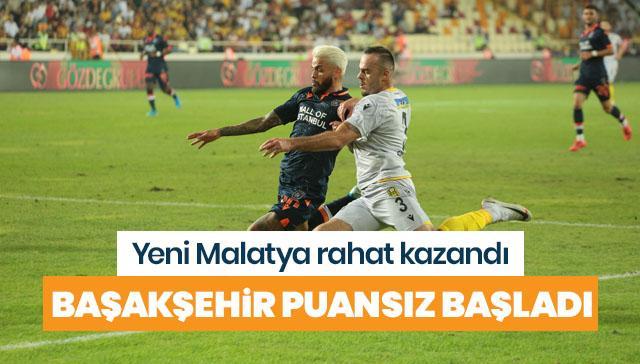 Medipol Başakşehir, Malatya'da dağıldı