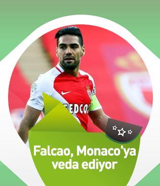 Falcao, Metz maçında son kez Monaco formasını giyip takımına veda edecek
