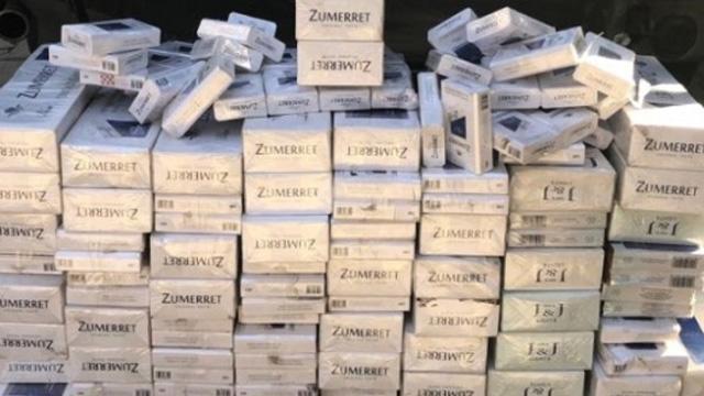 Kahramanmaraş'ta 5 bin 800 paket gümrük kaçağı sigara ele geçirildi