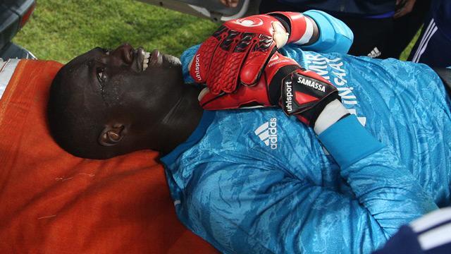 Sivasspor kalecisi Mamadou Samassa'nın sağlık durumu iyi