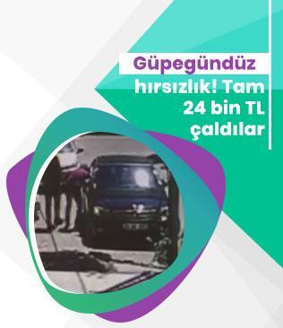 Güpegündüz hırsızlık! İstanbul Tuzla'da hırsızlar aracın camını kırıp 24 bin TL çaldılar