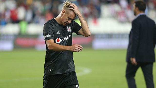 Beşiktaş'ta sakatlar kervanına Vida da eklendi