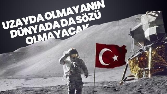 Türkiye Uzay Ajansı Başkanı Yıldırım'dan dikkat çeken açıklama