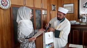Avusturyalı Stefani Anrain, tatil için geldiği Konya'da Müslüman oldu