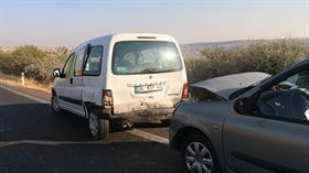 Adıyaman'da düğün konvoyundaki trafik kazasında 3'ü çocuk 11 kişi yaralandı