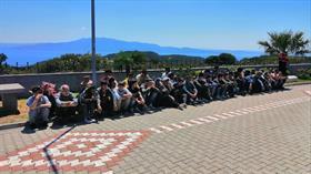 Çanakkale'den Yunanistan'a gitmek isteyen 80 mülteci yakalandı