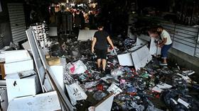 Yağış mağduru İstanbul Eminönü esnafının zararı 5 milyon TL
