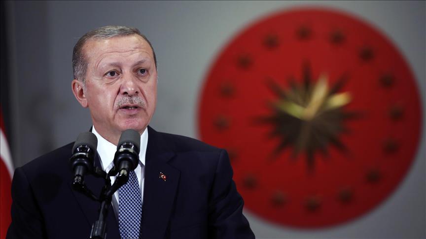 Başkan Erdoğan'dan Ahmet Haluk Dursun için başsağlığı mesajı